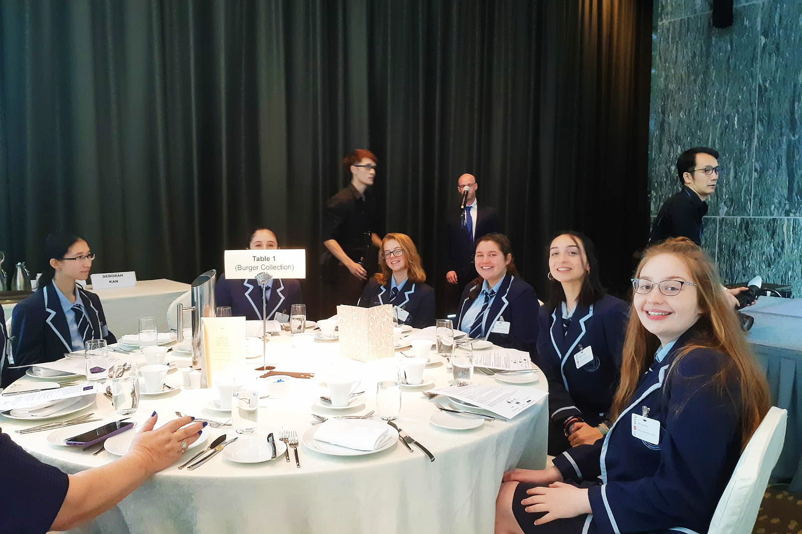 Grade 10 Students attend Israel-Hong Kong: Women-to-Women Bridge